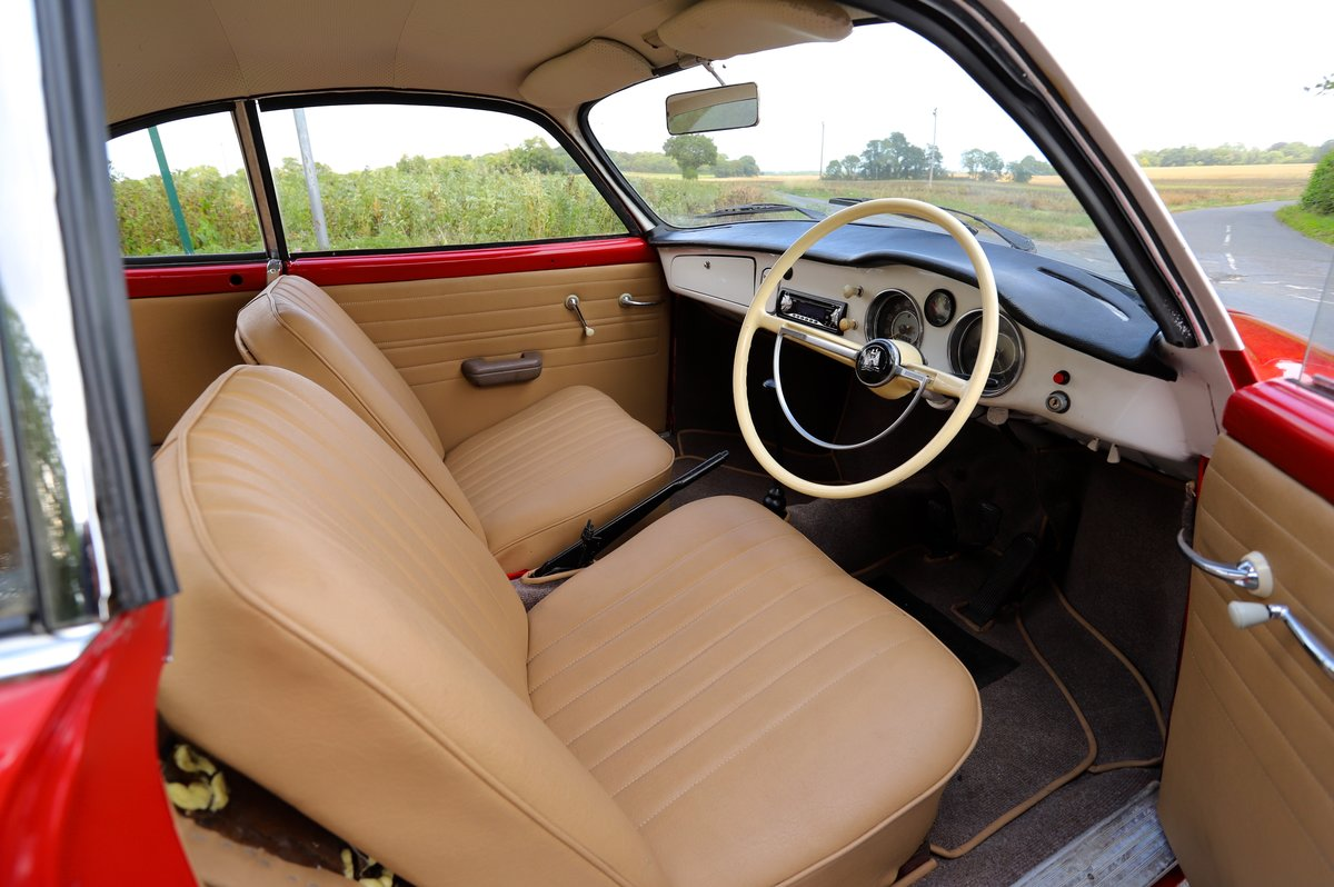 1962 Volkswagen Karmann Ghia (Type 14). Right Hand Drive For Sale (picture 4 of 6)
