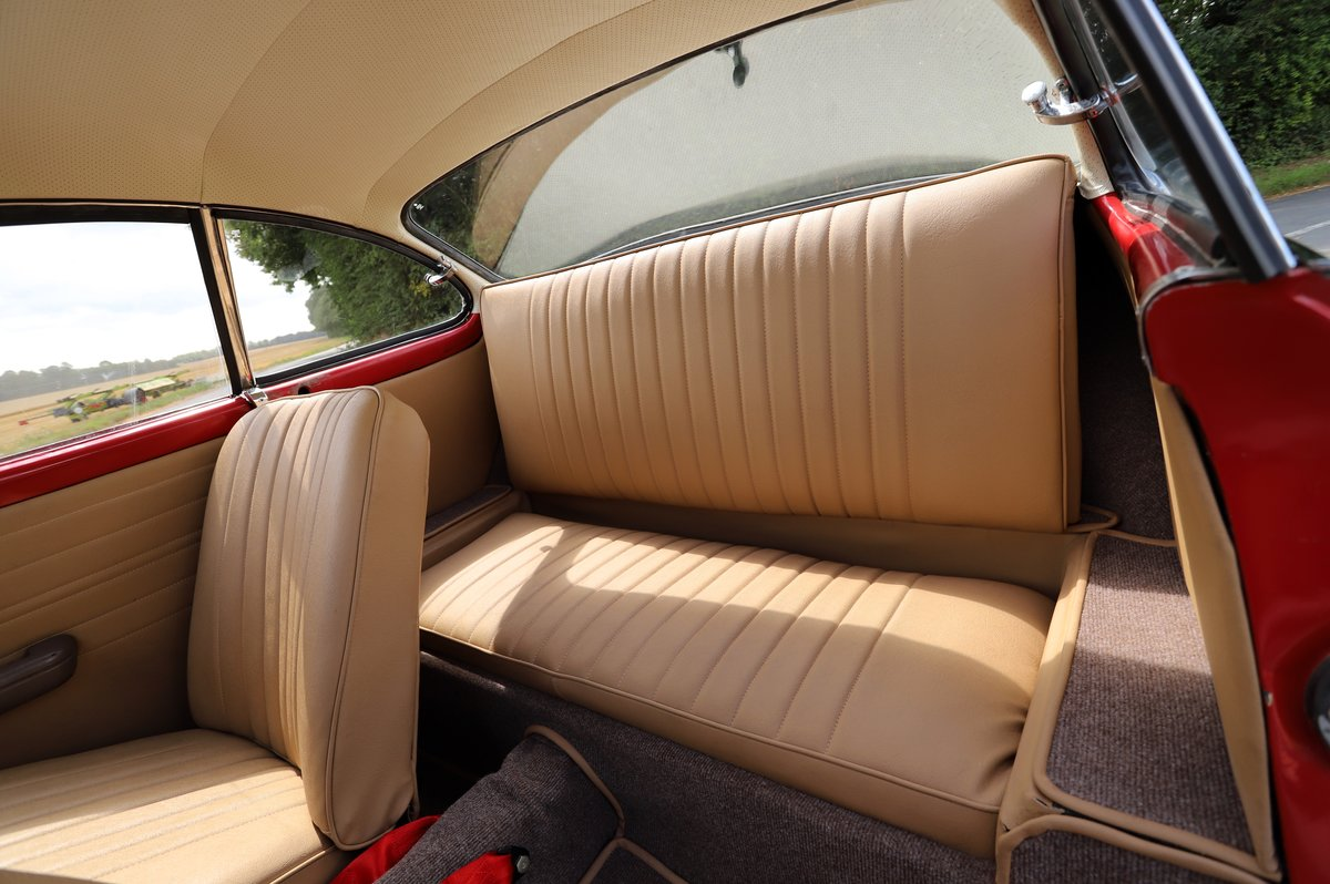 1962 Volkswagen Karmann Ghia (Type 14). Right Hand Drive For Sale (picture 5 of 6)
