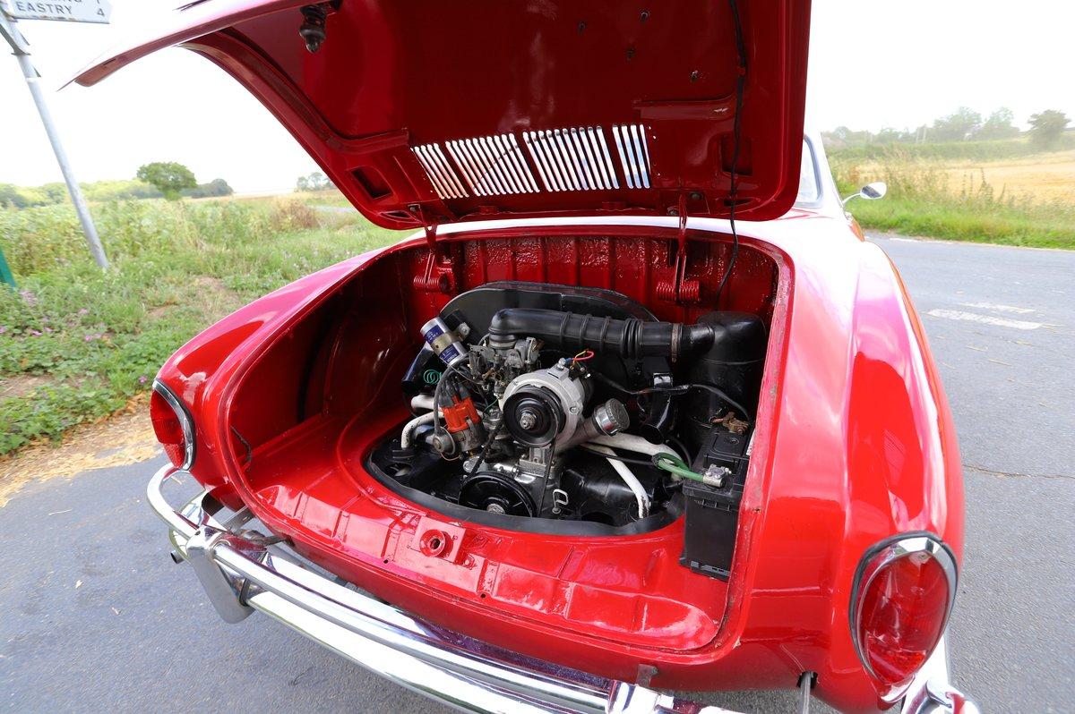 1962 Volkswagen Karmann Ghia (Type 14). Right Hand Drive For Sale (picture 6 of 6)