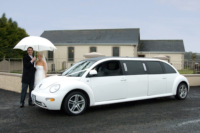 1999 Volkswagen Beetle Stretched Limousine, UNIQUE! SOLD (picture 1 of 6)