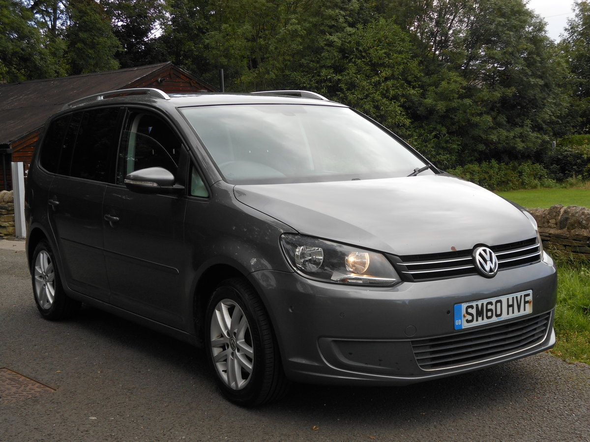 2010 VW Touran 2.0 TDI 140BHP SE NEW Shape 7 Seats SOLD (picture 1 of 6)