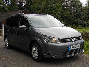 2010 VW Touran 2.0 TDI 140BHP SE NEW Shape 7 Seats