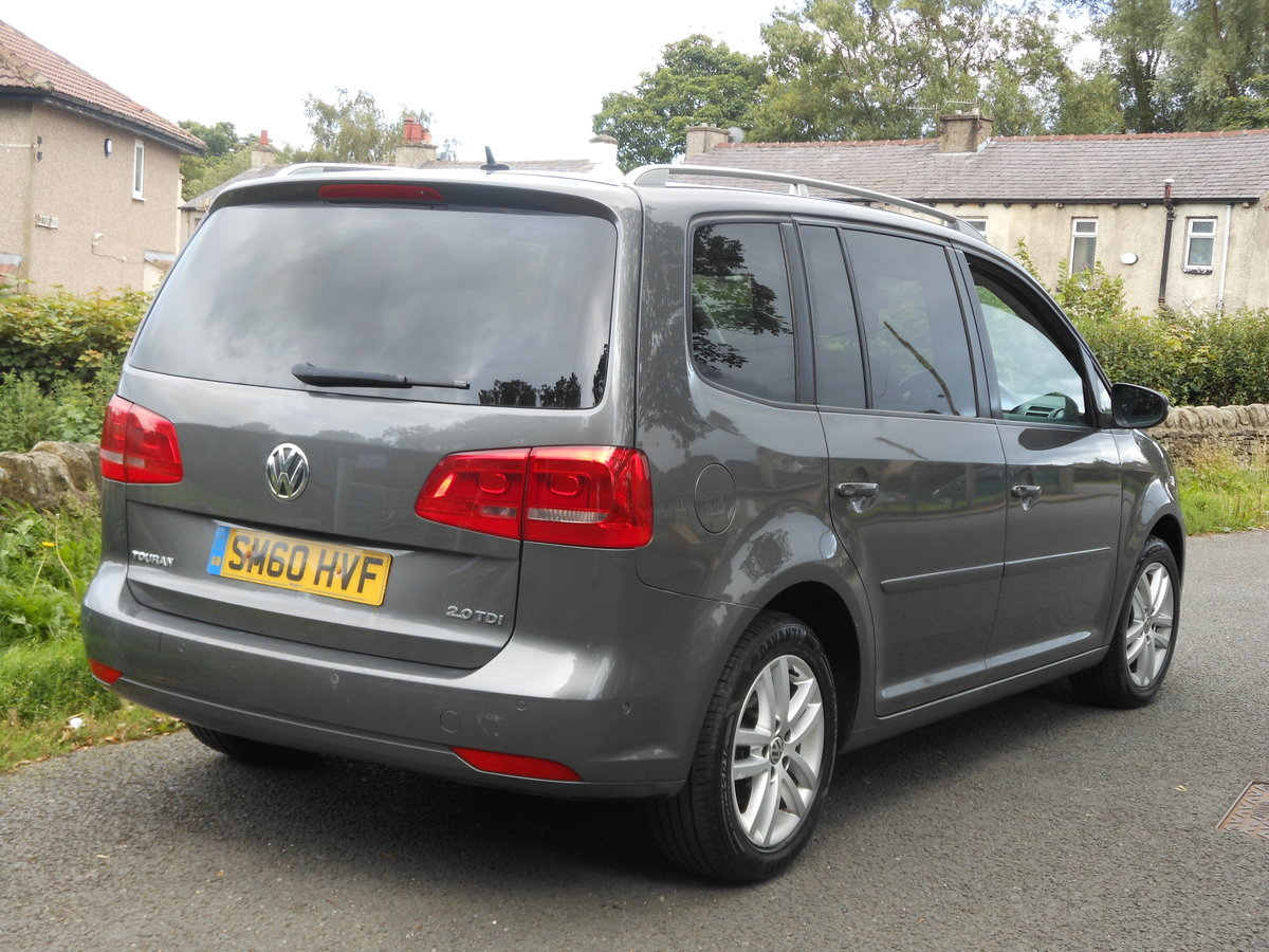 2010 VW Touran 2.0 TDI 140BHP SE NEW Shape 7 Seats SOLD (picture 2 of 6)