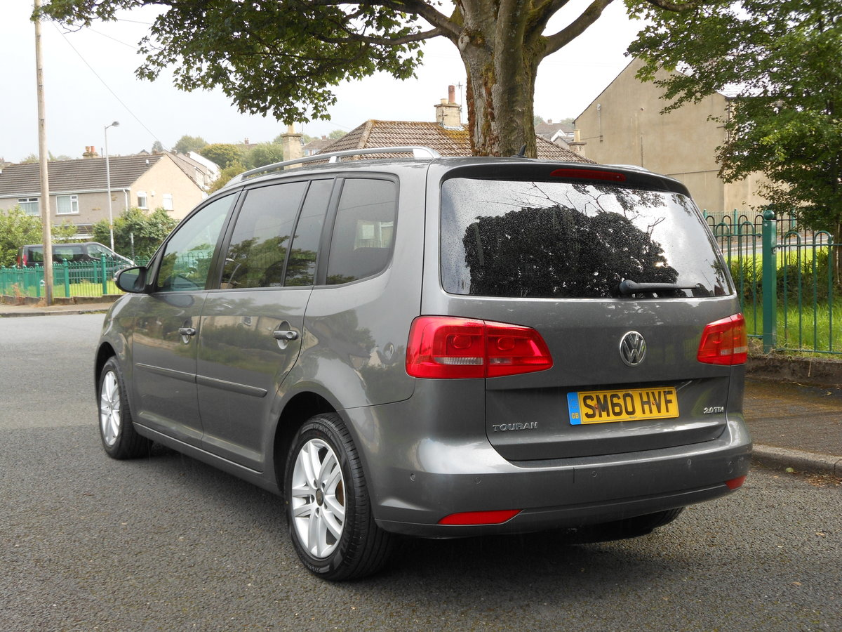 2010 VW Touran 2.0 TDI 140BHP SE NEW Shape 7 Seats SOLD (picture 3 of 6)