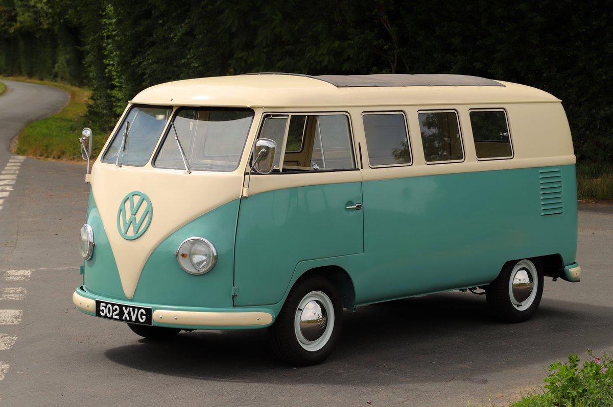 1956 (March) VW Split Screen Kombi / Camper Van. Restored. For Sale (picture 1 of 6)