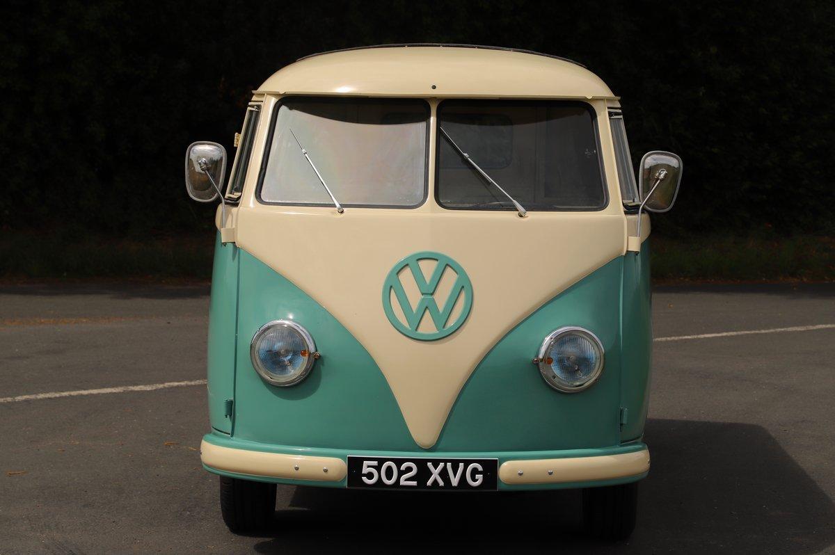 1956 (March) VW Split Screen Kombi / Camper Van. Restored. For Sale (picture 2 of 6)