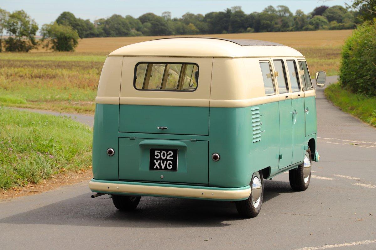 1956 (March) VW Split Screen Kombi / Camper Van. Restored. For Sale (picture 3 of 6)