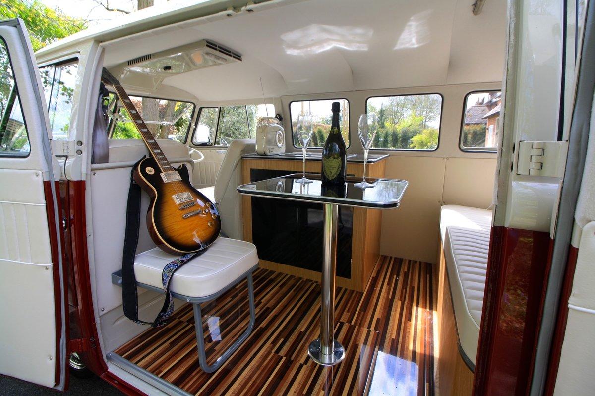 1956 (March) VW Split Screen Kombi / Camper Van. Restored. For Sale (picture 5 of 6)