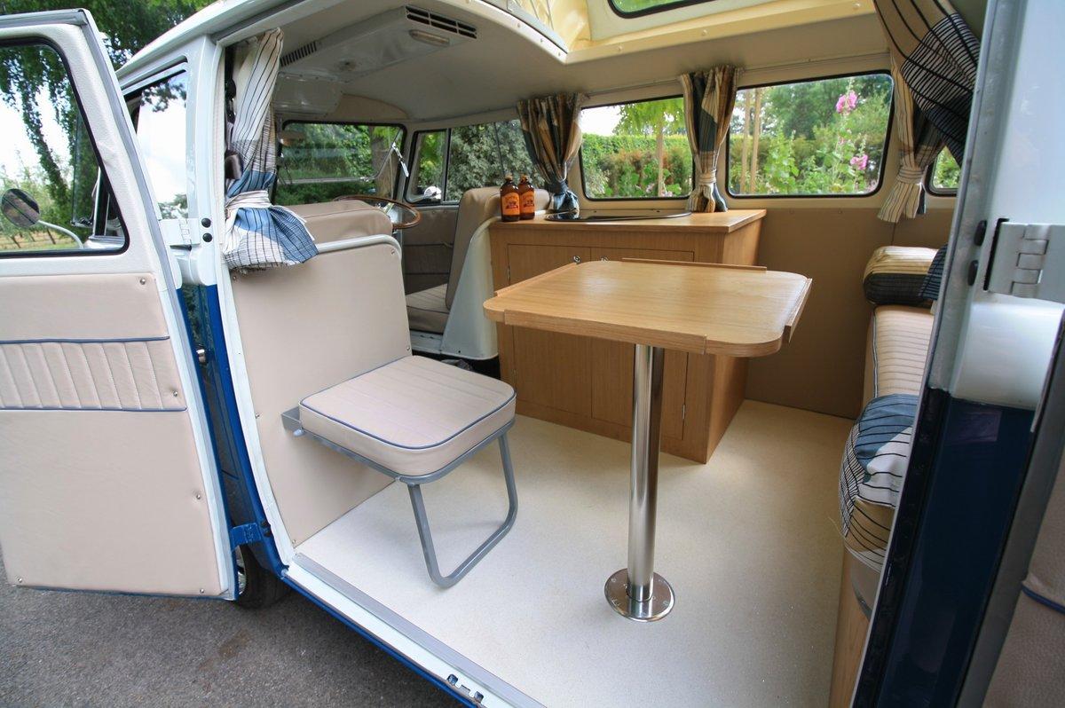 1956 (March) VW Split Screen Kombi / Camper Van. Restored. For Sale (picture 6 of 6)