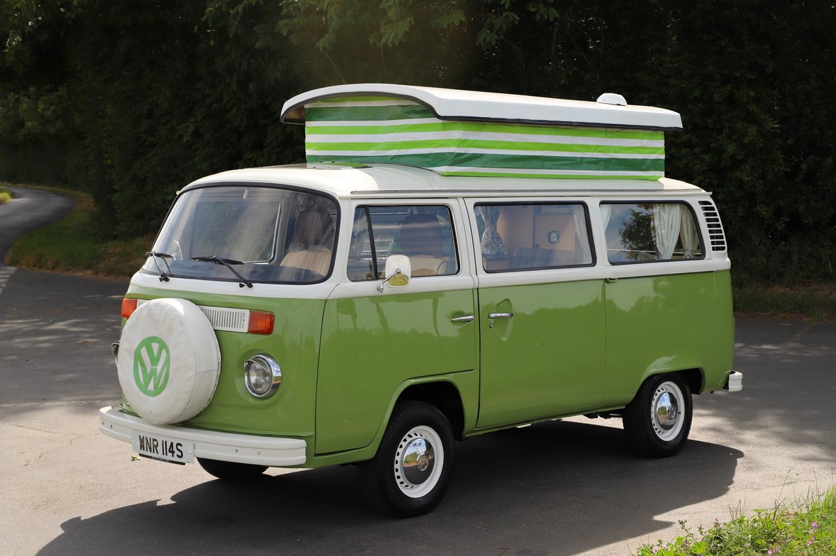 1978 VW Bay Window Camper Van – Recently Restored For Sale (picture 1 of 5)