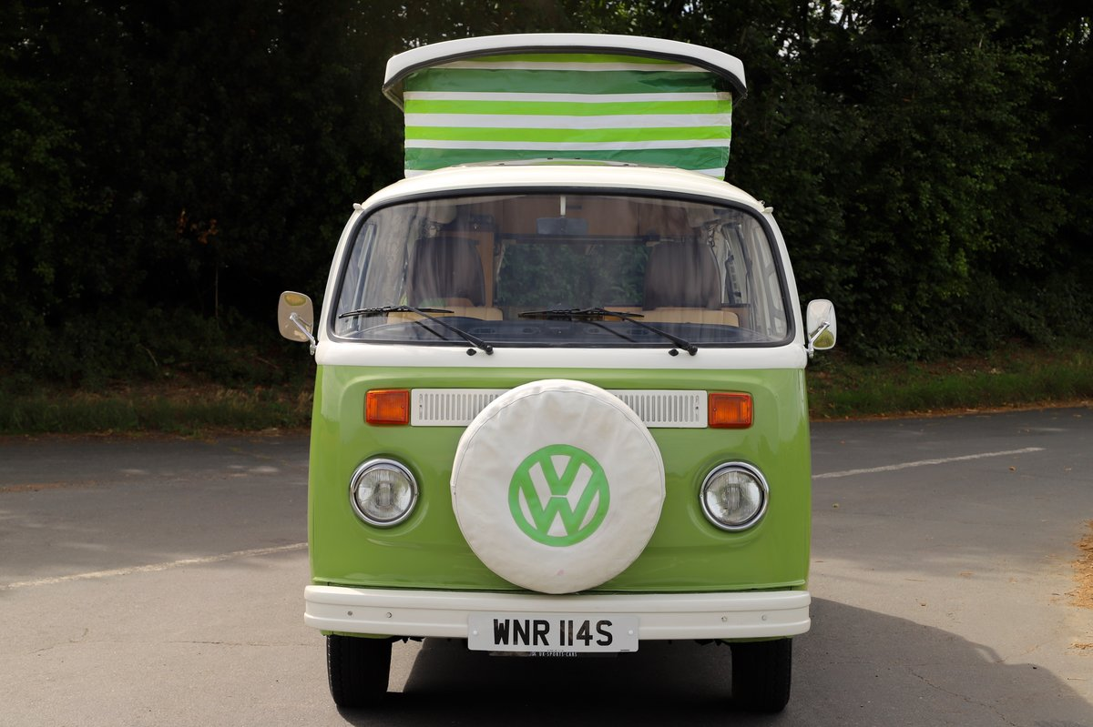 1978 VW Bay Window Camper Van – Recently Restored For Sale (picture 2 of 5)