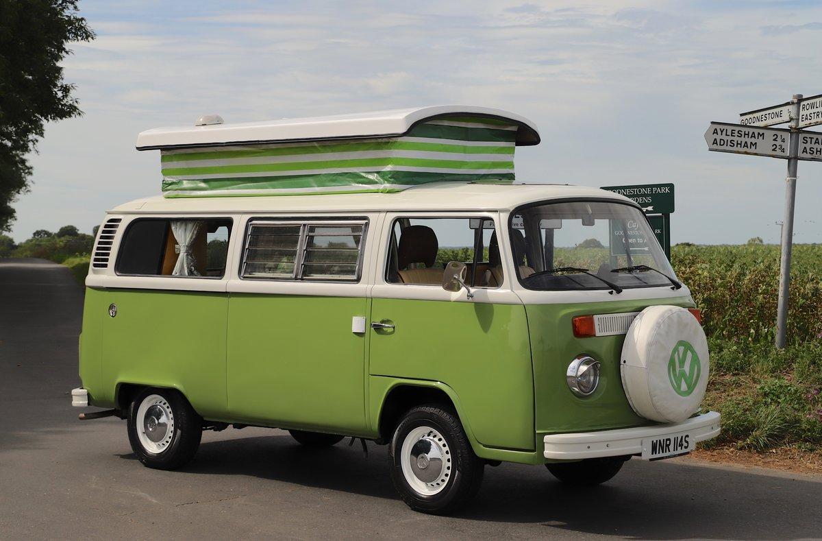 1978 VW Bay Window Camper Van – Recently Restored For Sale (picture 3 of 5)
