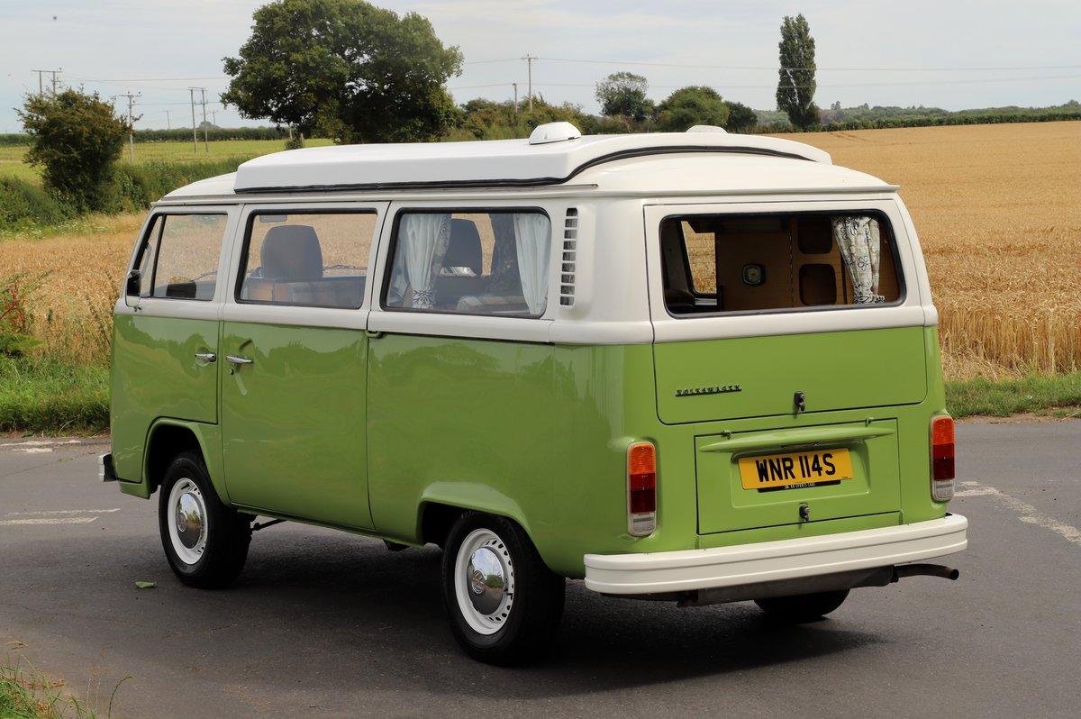 1978 VW Bay Window Camper Van – Recently Restored For Sale (picture 4 of 5)