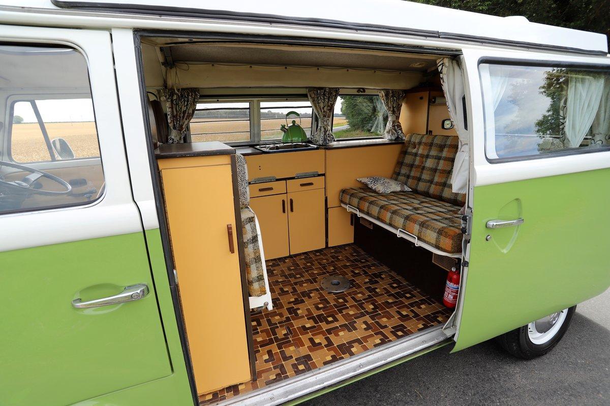 1978 VW Bay Window Camper Van – Recently Restored For Sale (picture 5 of 5)