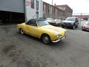 1966 Volkswagen Karmann Ghia Convt For Restoration - For Sale