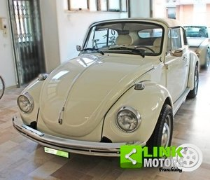 Picture of VOLKSWAGEN MAGGIOLONE CABRIOLET KARMANN ANNO 1974, ISCRITTA For Sale