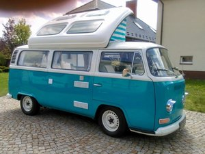 1972 VW T2 Camper at ACA 22nd August