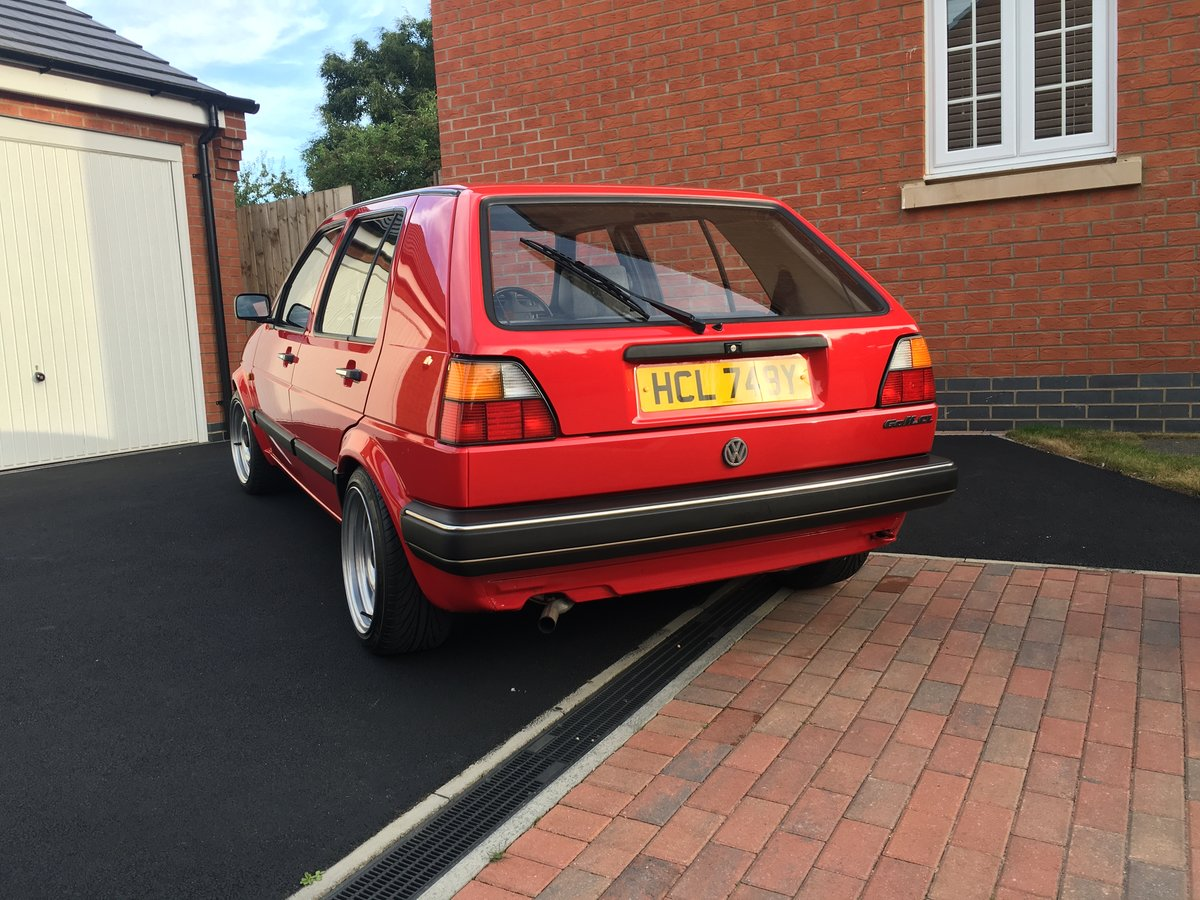 1989 VW Golf Mk2 1.6 CL Auto 32k Genuine low miles For Sale (picture 3 of 6)