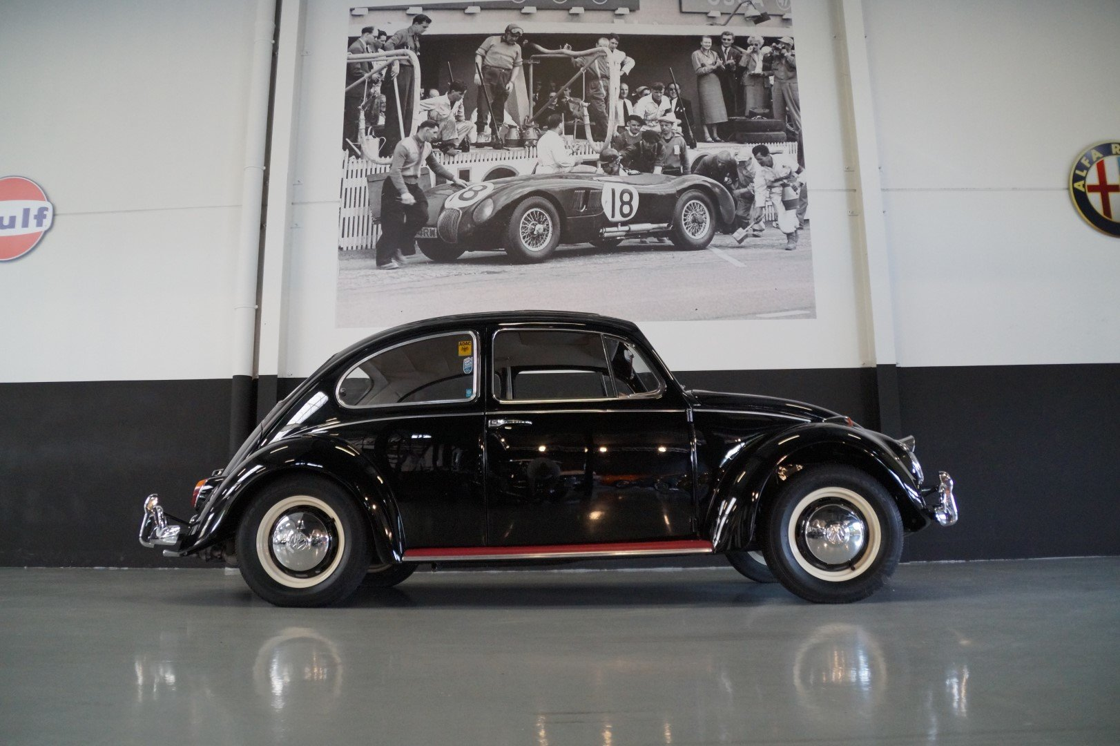 VOLKSWAGEN BEETLE matching numbers fully restored (1967) For Sale (picture 2 of 6)