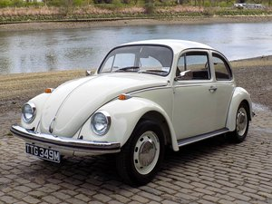 1974 VOLKSWAGEN BEETLE 1300 - RESTORED - ORIGINAL RHD UK CAR