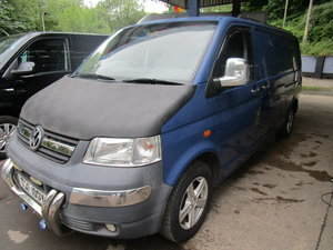2006 VW TRANSPORTER LWB 2.5 TDI 130 BLUE.