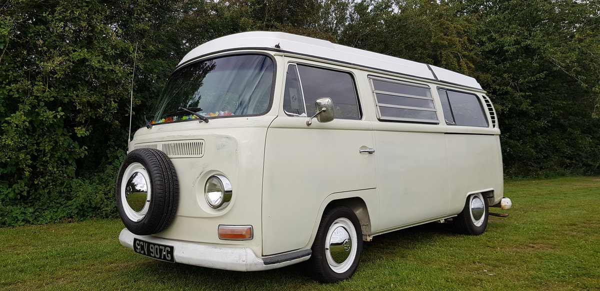 1969 VW T2 Early Bay Window Westfalia Campervan SOLD (picture 1 of 6)