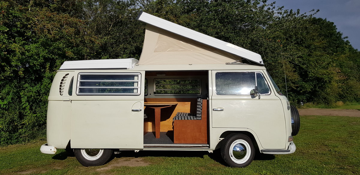 1969 VW T2 Early Bay Window Westfalia Campervan SOLD (picture 2 of 6)