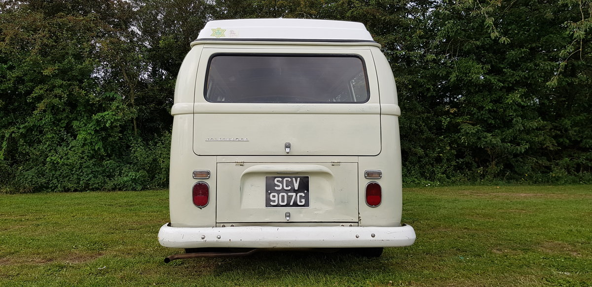 1969 VW T2 Early Bay Window Westfalia Campervan SOLD (picture 3 of 6)