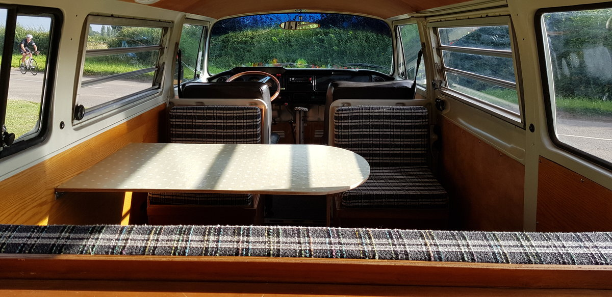 1969 VW T2 Early Bay Window Westfalia Campervan SOLD (picture 5 of 6)