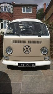VW T2 BAY WINDOW CAMPER DORMOBILE  RH DRIVE UK