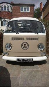 1972 VW T2 BAY WINDOW CAMPER DORMOBILE  RH DRIVE UK