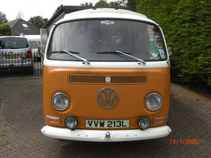 1972 Genuine VW Campervan, 2 owners from new