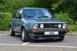 VW GOLF MK2 GTI 8V JADE GREEN 1.8 3DR TYPE 19 1987