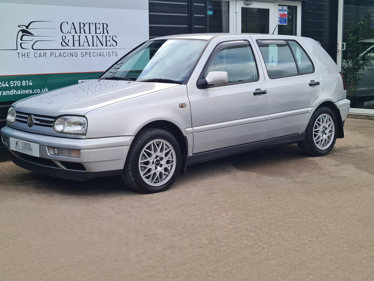 VOLKSWAGEN GOLF VR6 2.8 Auto VR6 1997 10,968 Miles For Sale (picture 1 of 24)