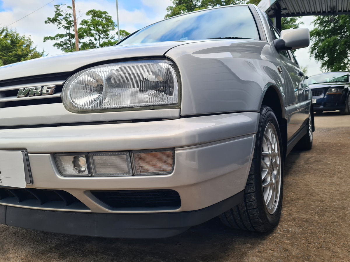 VOLKSWAGEN GOLF VR6 2.8 Auto VR6 1997 10,968 Miles For Sale (picture 12 of 24)