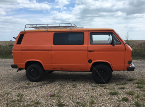 Vw t25/3 campervan