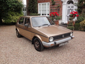 1983 Very original Golf MK 1 GL Owned by same family for years