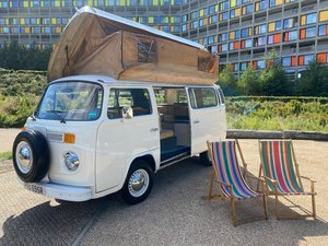 VW Camper Van 4 Berth Pop Top RHD