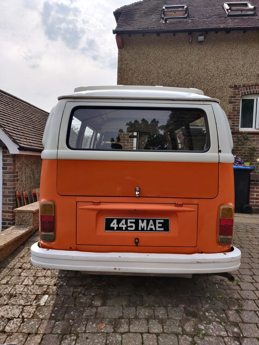 1974 VW T2, RHD, Campervan, 2000cc SOLD (picture 4 of 6)