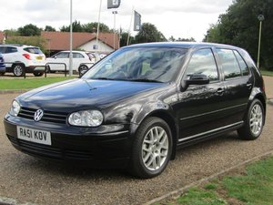 2001 VW Golf 1.8 GTi Turbo at ACA 22nd August