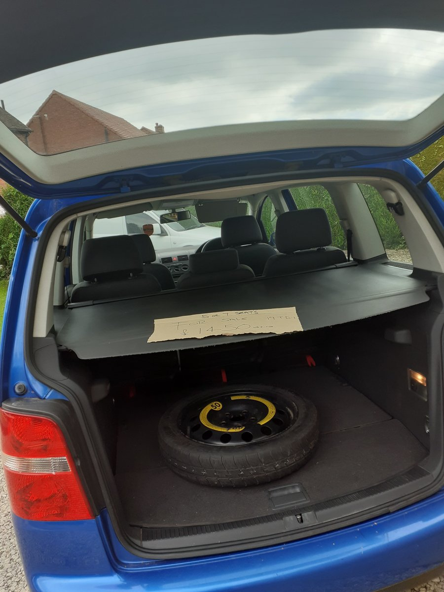 2005 Volkswagon Touran 7 seater  For Sale (picture 5 of 5)