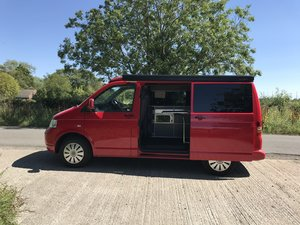 2008 VW T 5 camper van , pop top 60,000 miles