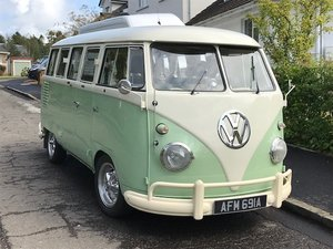 LHD Split Screen Camper Van
