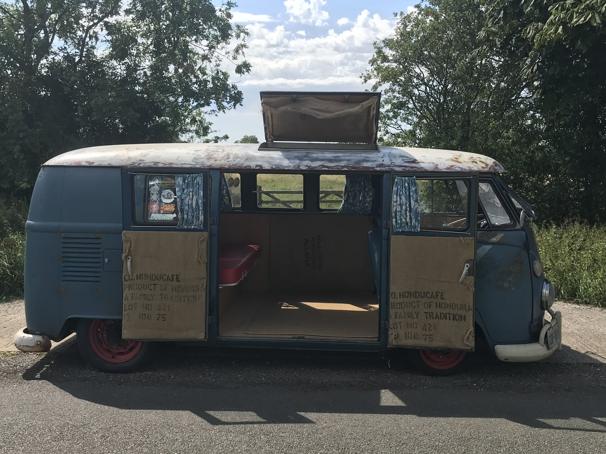 1964 VW Split Screen Camper , T2 campervan westfalia sub hatch  For Sale (picture 2 of 6)