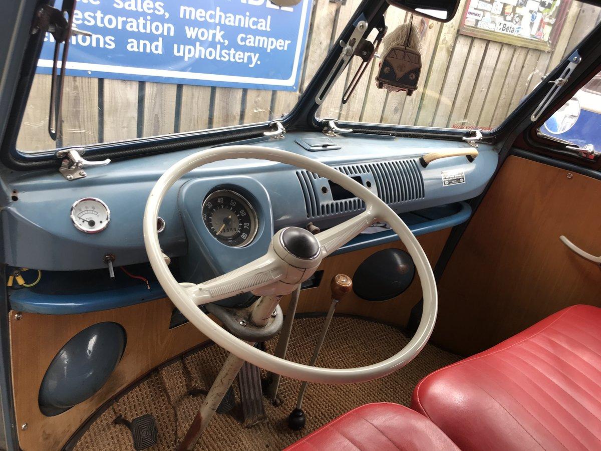 1964 VW Split Screen Camper , T2 campervan westfalia sub hatch  For Sale (picture 4 of 6)