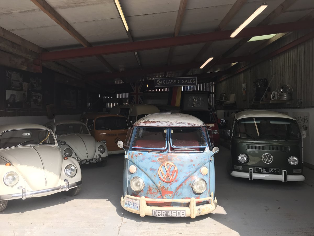 1964 VW Split Screen Camper , T2 campervan westfalia sub hatch  For Sale (picture 5 of 6)