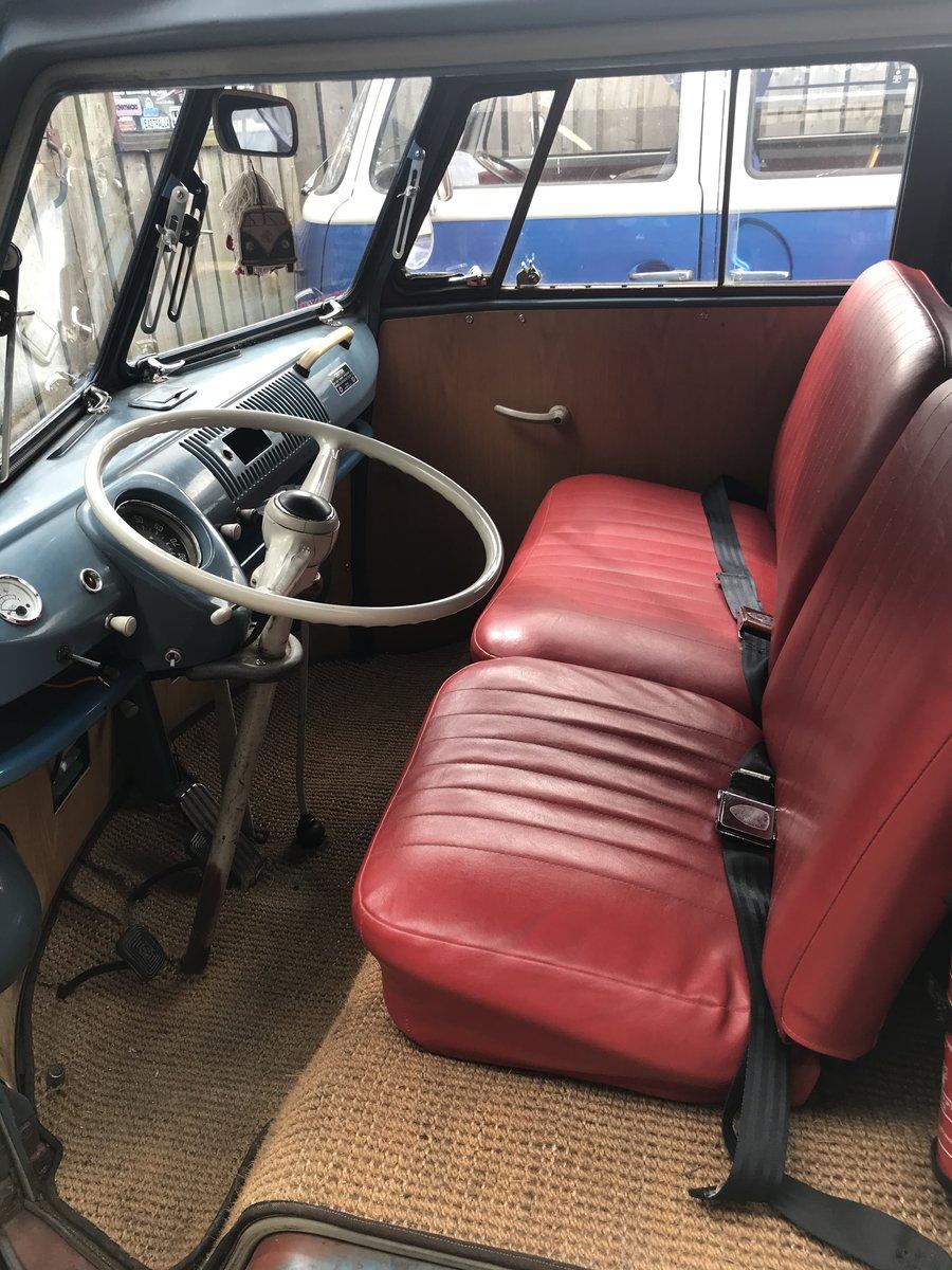 1964 VW Split Screen Camper , T2 campervan westfalia sub hatch  For Sale (picture 6 of 6)