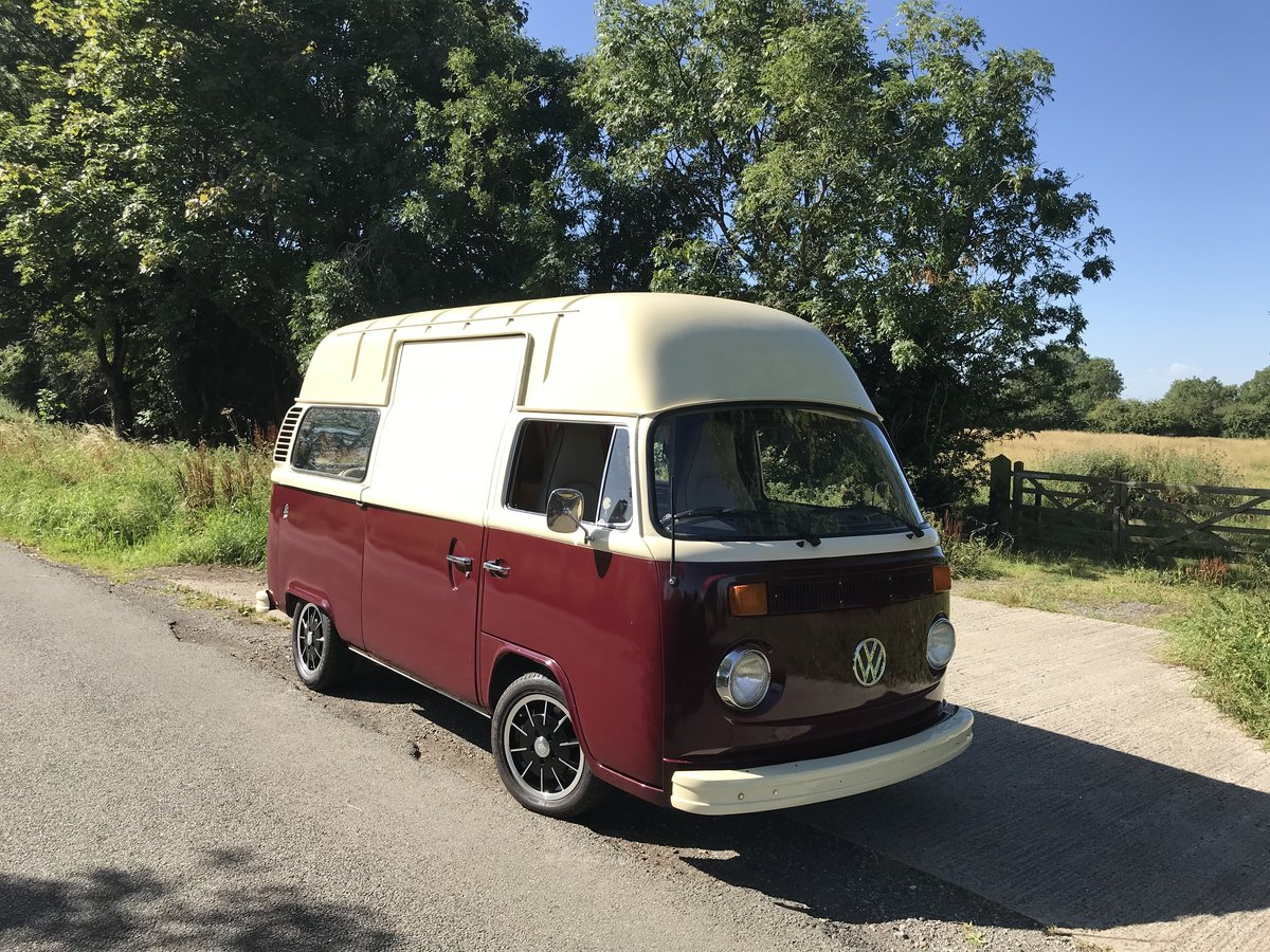1975 VW Bay window campervan, hi top RHD  For Sale (picture 3 of 6)
