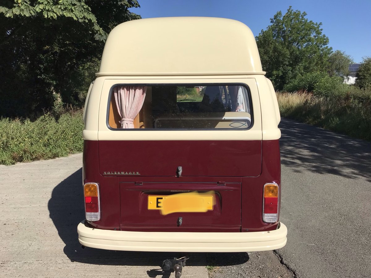 1975 VW Bay window campervan, hi top RHD  For Sale (picture 6 of 6)