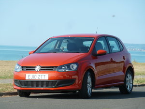 2010 POLO 1.6TDi SE 5DR A/C 2 OWNERS FULL HISTORY £30 TAX LOVELY